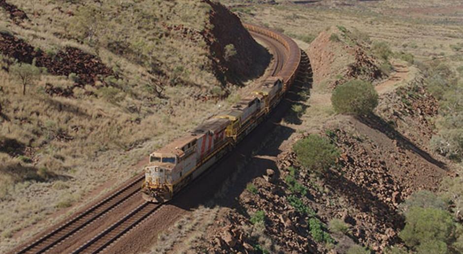Rio Tinto dostarczyło rudę żelaza pociągiem autonomicznym