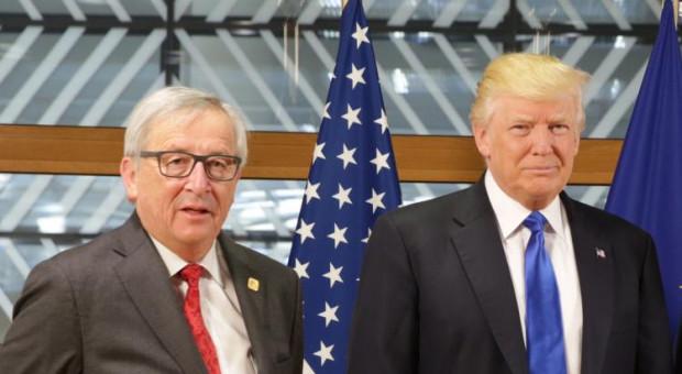 """Trump ogłasza """"nową fazę"""" w relacjach z UE i podjęcie negocjacji handlowych"""