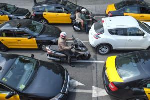Barcelona zablokowana - taksówkarze mają dość