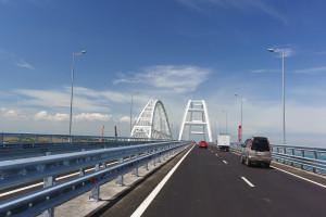Sroga kara dla firm budujących most na Krym