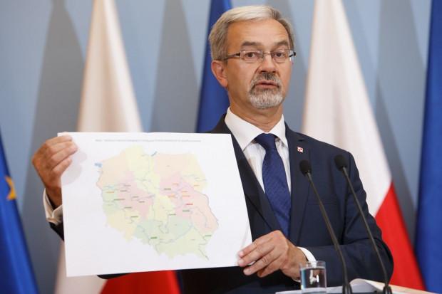 Jerzy Kwieciński zapowiedział budowę nowego mostu na Sanie