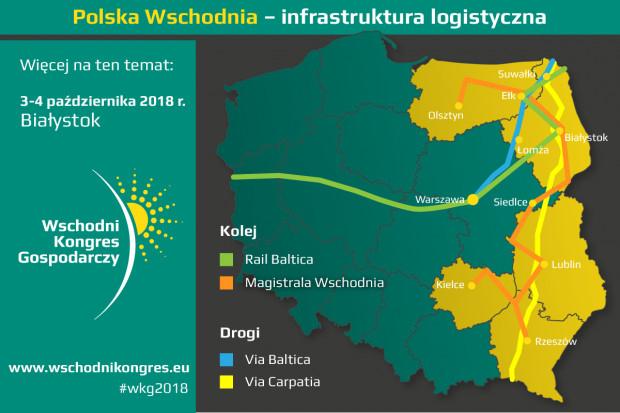 Polska Wschodnia nadrabia zaległości w rozwoju infrastruktury logistycznej