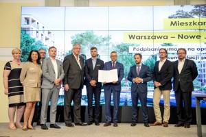 Program Mieszkanie Plus wkracza do Warszawy. Jest umowa na pierwsze osiedle