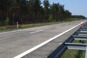 Ponad miliard złotych ma kosztować przebudowa polskiej autostrady