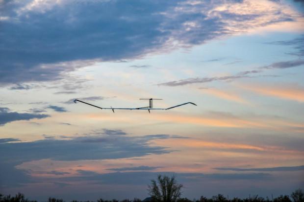 Szpiegujący dron Airbusa z nowym rekordem lotu - 25 dni w powietrzu