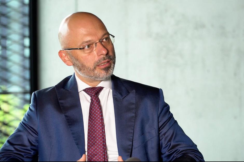 Michał Kurtyka - sekretarz stanu w Ministerstwie Środowiska (Fot. PTWP)