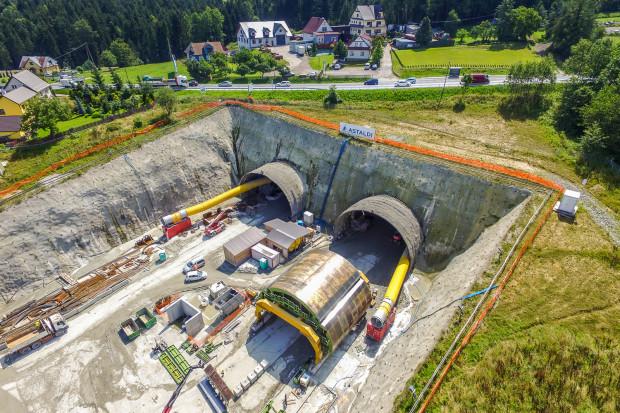 Przez budowę tunelu na ekspresowej Zakopiance wysychają studnie