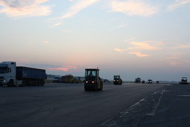 Zakończył się remont fragmentu infrastruktury lotniska Modlin