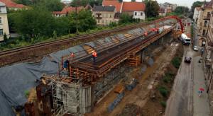 PKP PLK modernizują najważniejszą linię kolejową w Krakowie