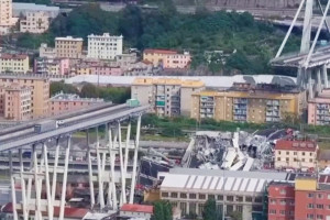 Po katastrofie w Genui zarządca przeprasza i obiecuje odbudowę mostu