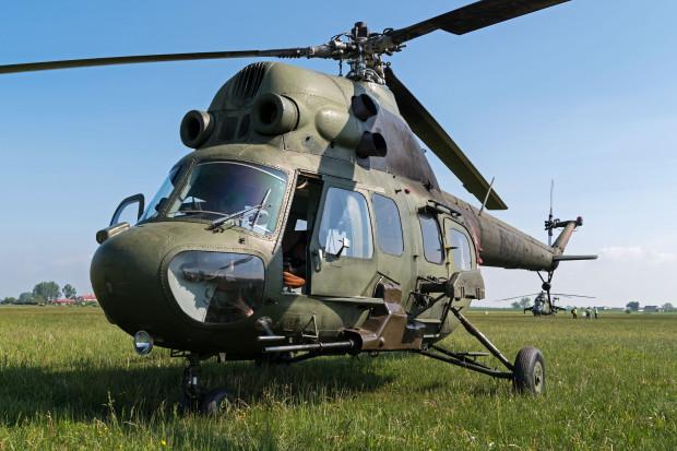 Śmigłowiec polskiego wojska uderzył w ziemię