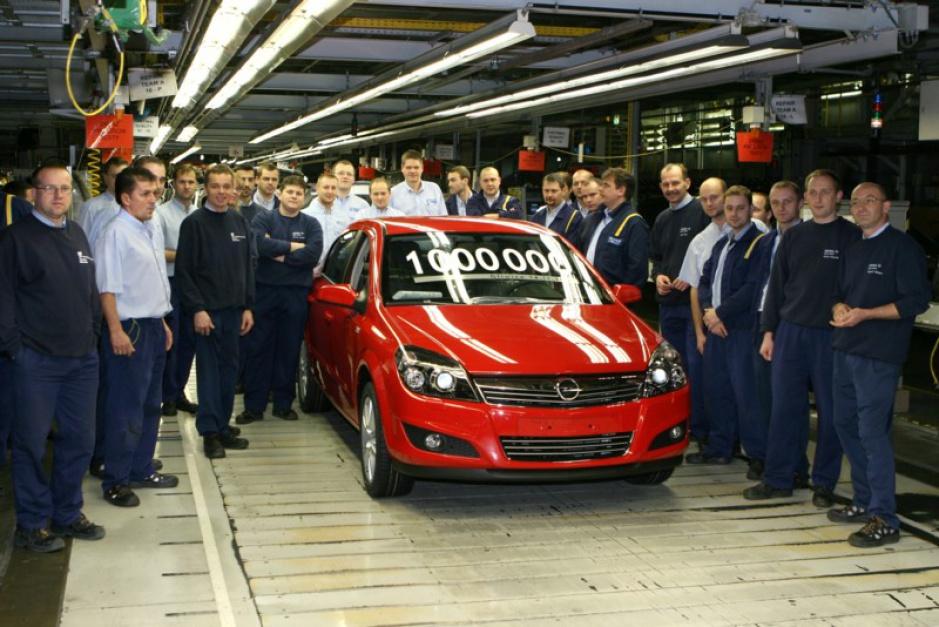Milionowa Astra z fabryki w Gliwicach trafiła do Rosji.
