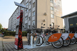Spółka górnicza wspiera rowery miejskie