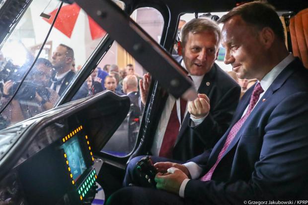 Prezydent: chciałbym, żeby polski przemysł zbrojeniowy rozwijał się coraz dynamiczniej