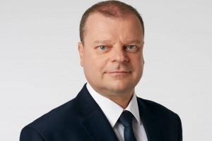 Premier Litwy Saulius Skvernelis Człowiekiem Roku XXVIII Forum Ekonomicznego w Krynicy