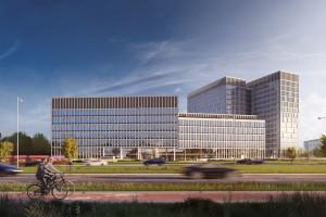 Echo Investment rozpoczęło budowę nowego kompleksu biurowego