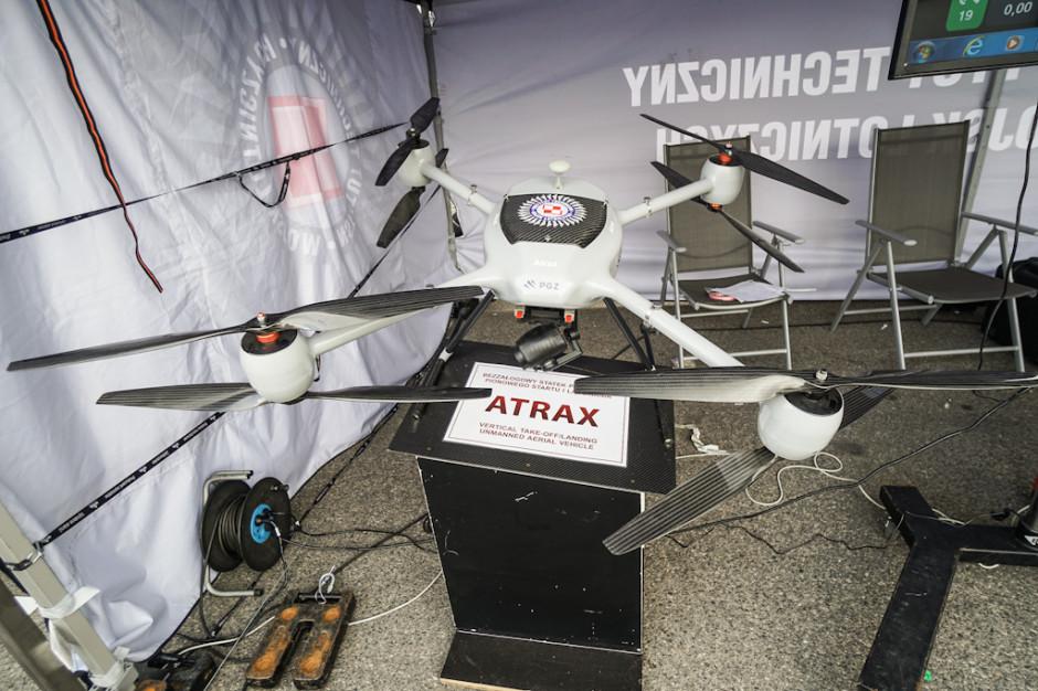 Bezzałogowy statek powietrzny pionowego startu i lądowania Atrax został opracowany w Instytucie Technicznym Wojsk Lotniczych.  Atrax może być  przeznaczony do wojskowych zadań rozpoznawczych lub cywilnych.