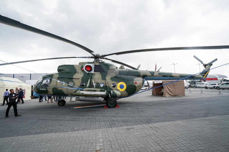 Firma Motor Sich JSC z Ukrainy pokazała w Kielcach śmigłowiec wojskowy Mi-8MSB (na zdjęciu) a także lekki śmigłowiec wielozadaniowy Mi-2.