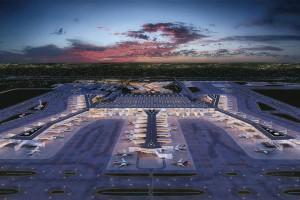 W 3 lata zbudowali gigantyczne lotnisko. Czy podobnie będzie wyglądać Centralny Port Komunikacyjny?