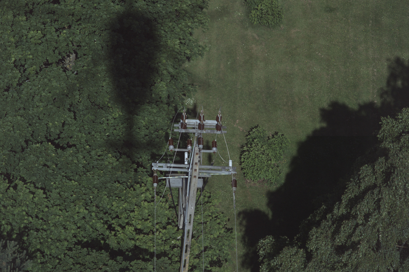 Oblot linii energetycznych Energi Operator ( fot. mat. pras. Energa Operator)
