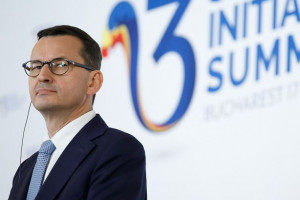 Mateusz Morawiecki mocno zaznaczył niezgodę na projekt Rosjan i Niemców