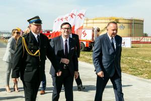 PKN Orlen zyskał nową strażnicę zakładowej straży pożarnej