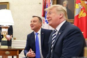 Prezydent Andrzej Duda zaprosił do Polski biznes amerykański