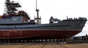 Ratowniczy okręt polskiej marynarki zwodowany w Gdyni