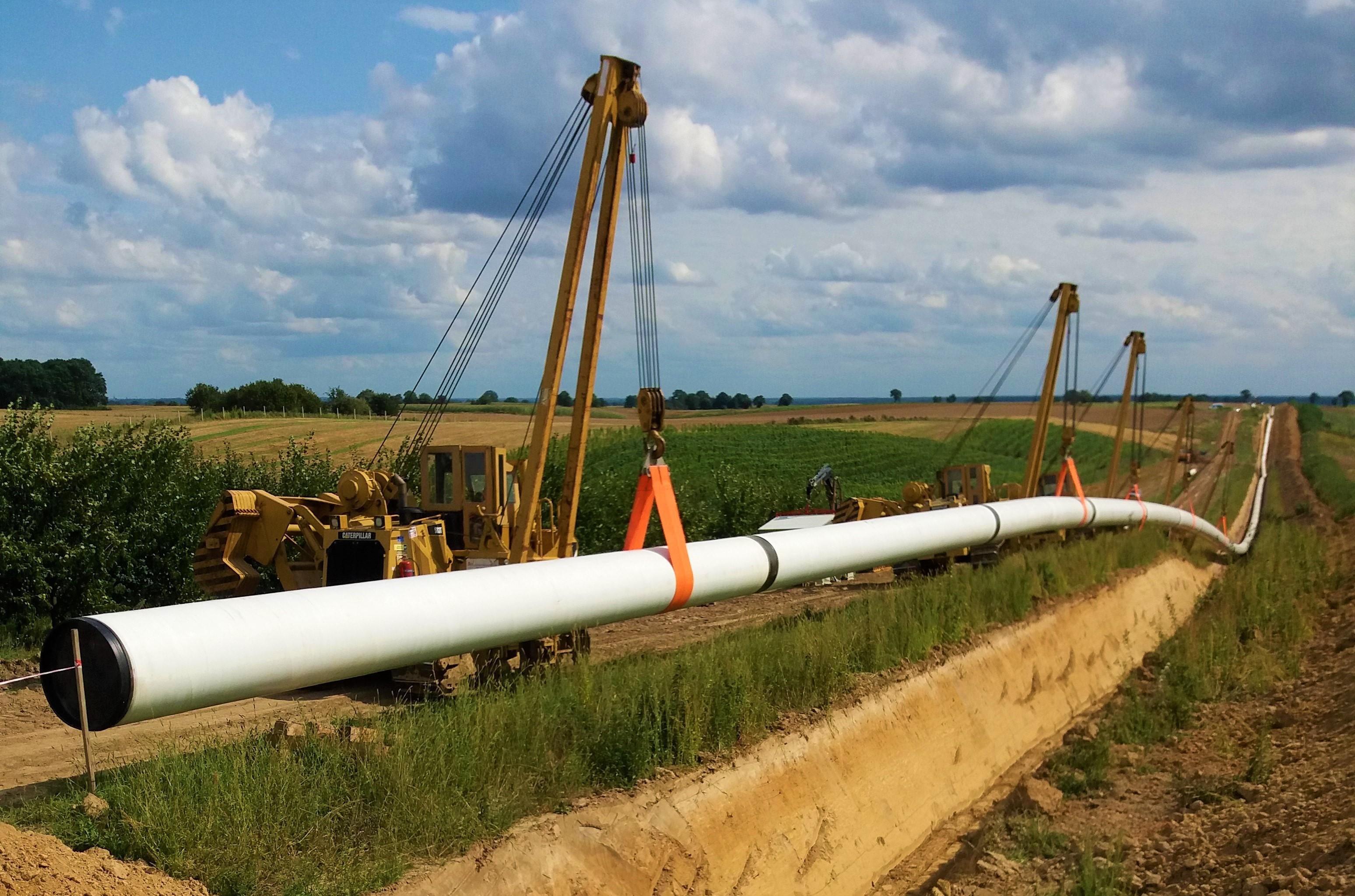 Budowa gazociągu. Fot. Budimex