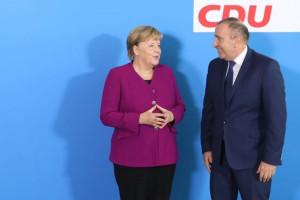 Grzegorz Schetyna poruszył z Angelą Merkel drażliwy gazowy temat
