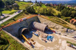Jest kluczowy podwykonawca na budowie tunelu na Zakopiance
