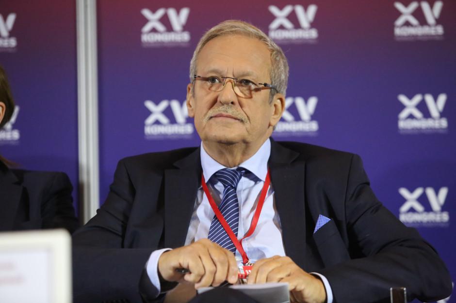 Janusz Steinhoff, wicepremier, minister gospodarki w latach 1997-2001 (Fot. PTWP)