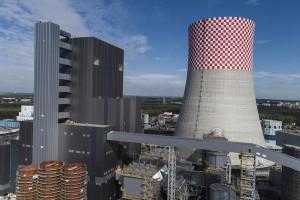 Rozruch na budowie flagowej polskiej elektrowni