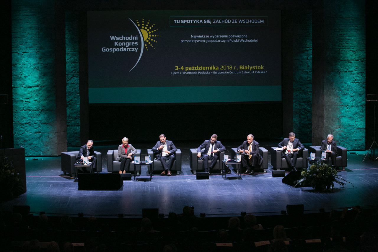 Cooperation against chaos. The opening debate of the Eastern Economic Congress.