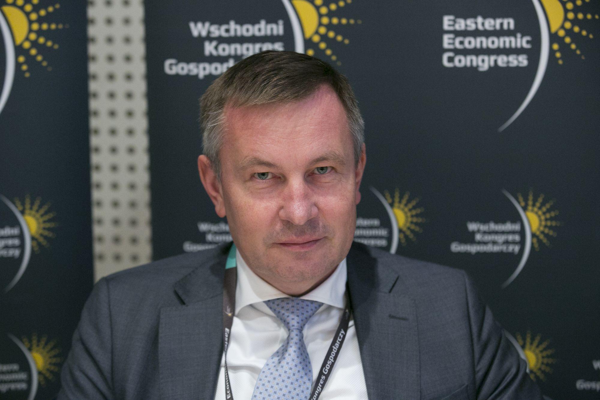 Leszek Gołąbiecki, prezes Unibepu. Fot PTWP