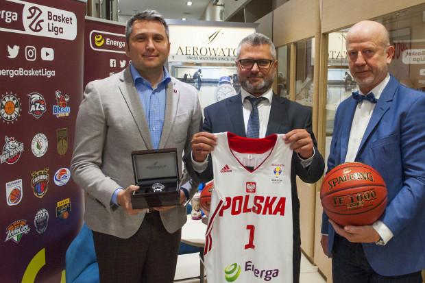 Dystrybutor szwajcarskich zegarków nowym sponsorem Energa Basket Ligi