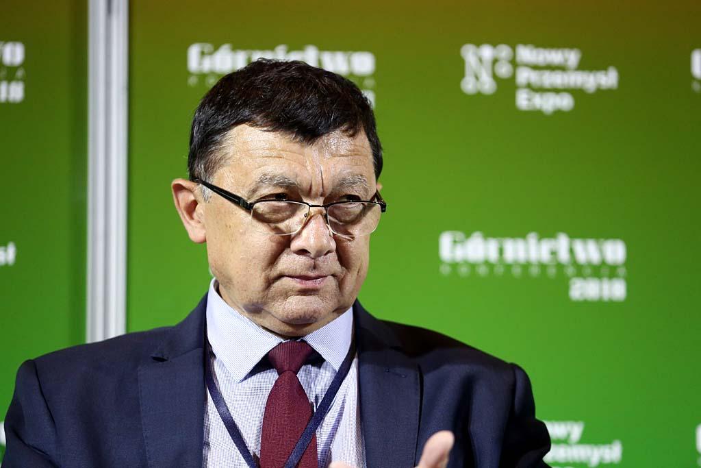 Janusz Olszowski, prezes Górniczej Izby Przemysłowo-Handlowej