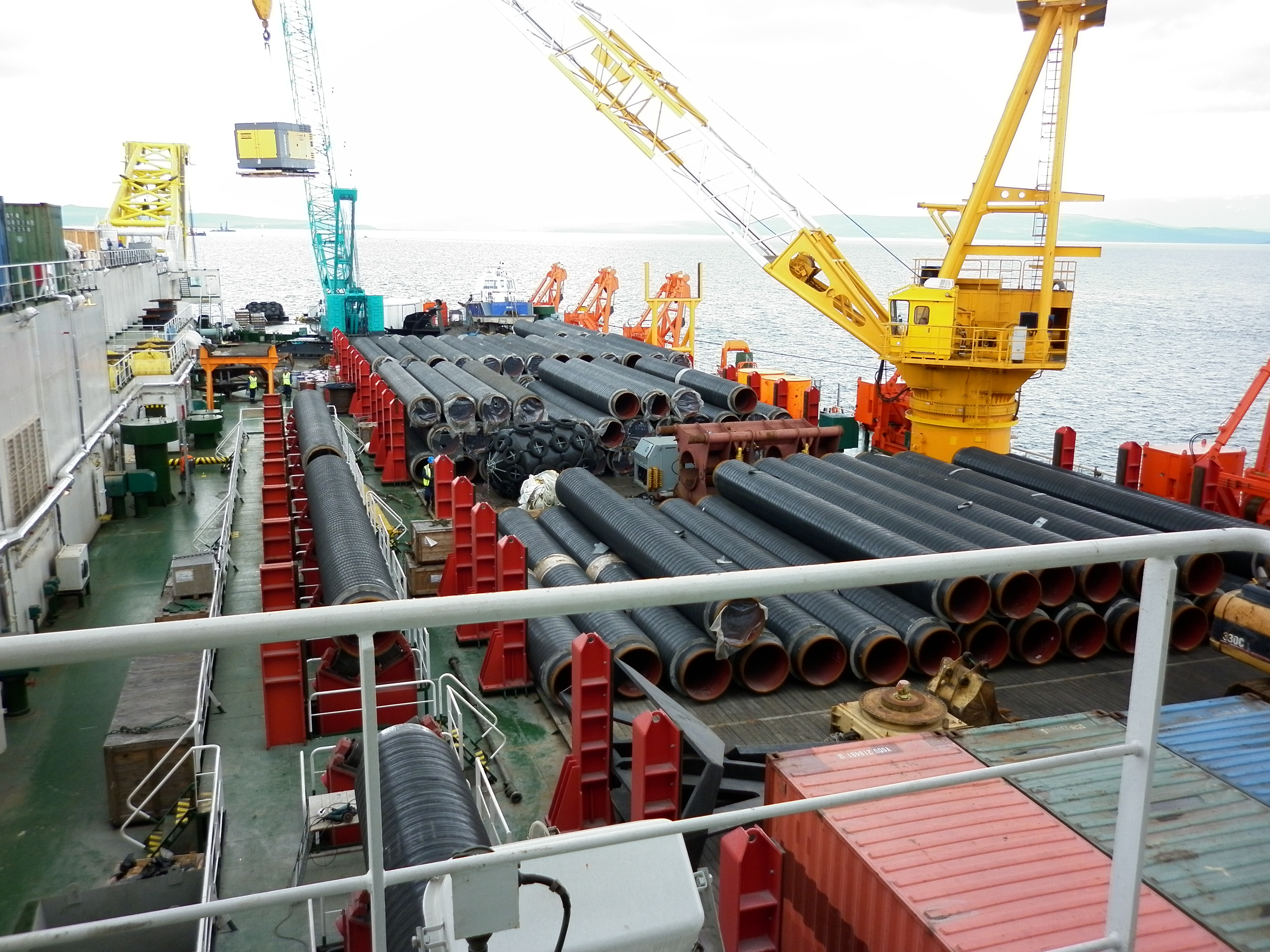 Aż 11 podmiotów chce dostarczyć rury na budowę gazociągu. Fot. Leonid Eremeychuk via Gaz-System
