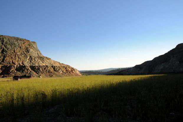 Fragment dzidy, miejsce mocy, czyli jak Indianie KGHM z Kanady wyrzucili