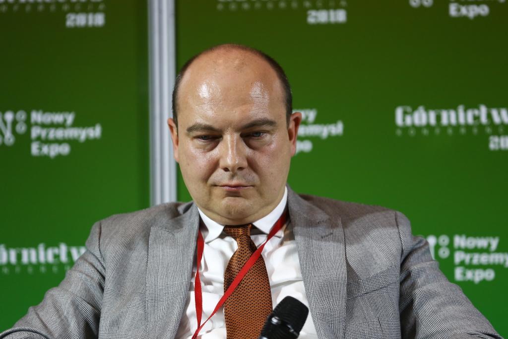Daniel Ozon, prezes Jastrzębskiej Spółki Węglowej. Fot. PTWP