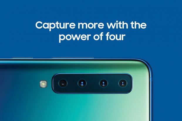 Samsung pokazał smartfon Galaxy A9 z poczwórnym aparatem fotograficznym