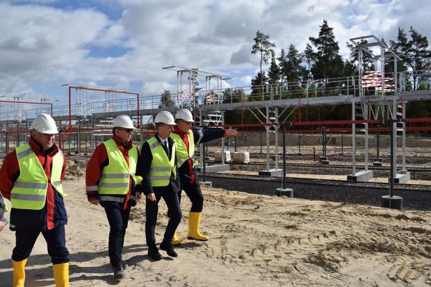 Budowa terminala Gaspolu w Sędziszowie zbliża się do końca