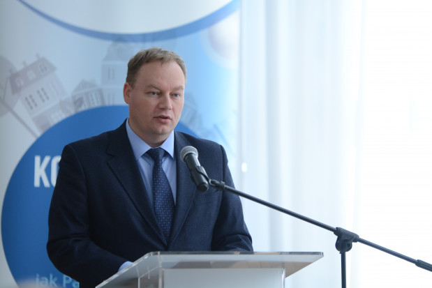 Tomasz Dąbrowski - wiceminister energii. Fot. Ministerstwo Energii.