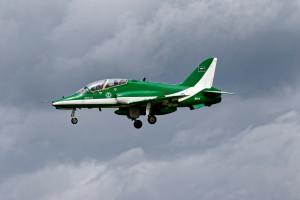 Rozbił się samolot sił powietrznych Arabii Saudyjskiej; załoga nie żyje