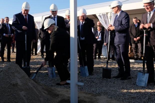 Na budowie Elektrowni Ostrołęka C wbito pierwszą łopatę
