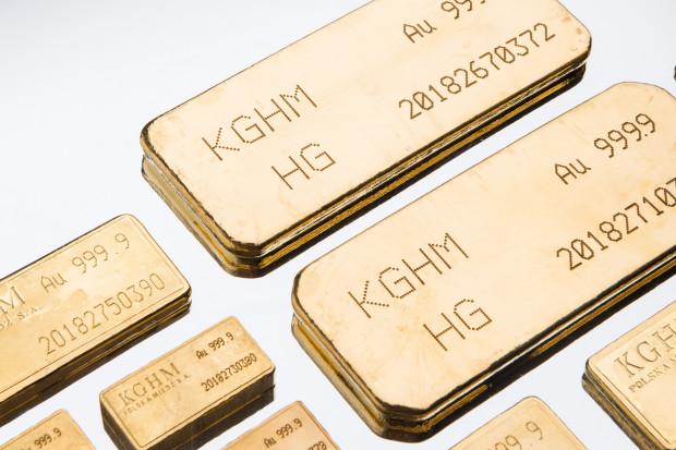 Złoto w KGHM coraz ważniejsze