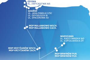 """Z Warszawy do Gdańska łatwiej przejechać """"elektrykiem"""""""