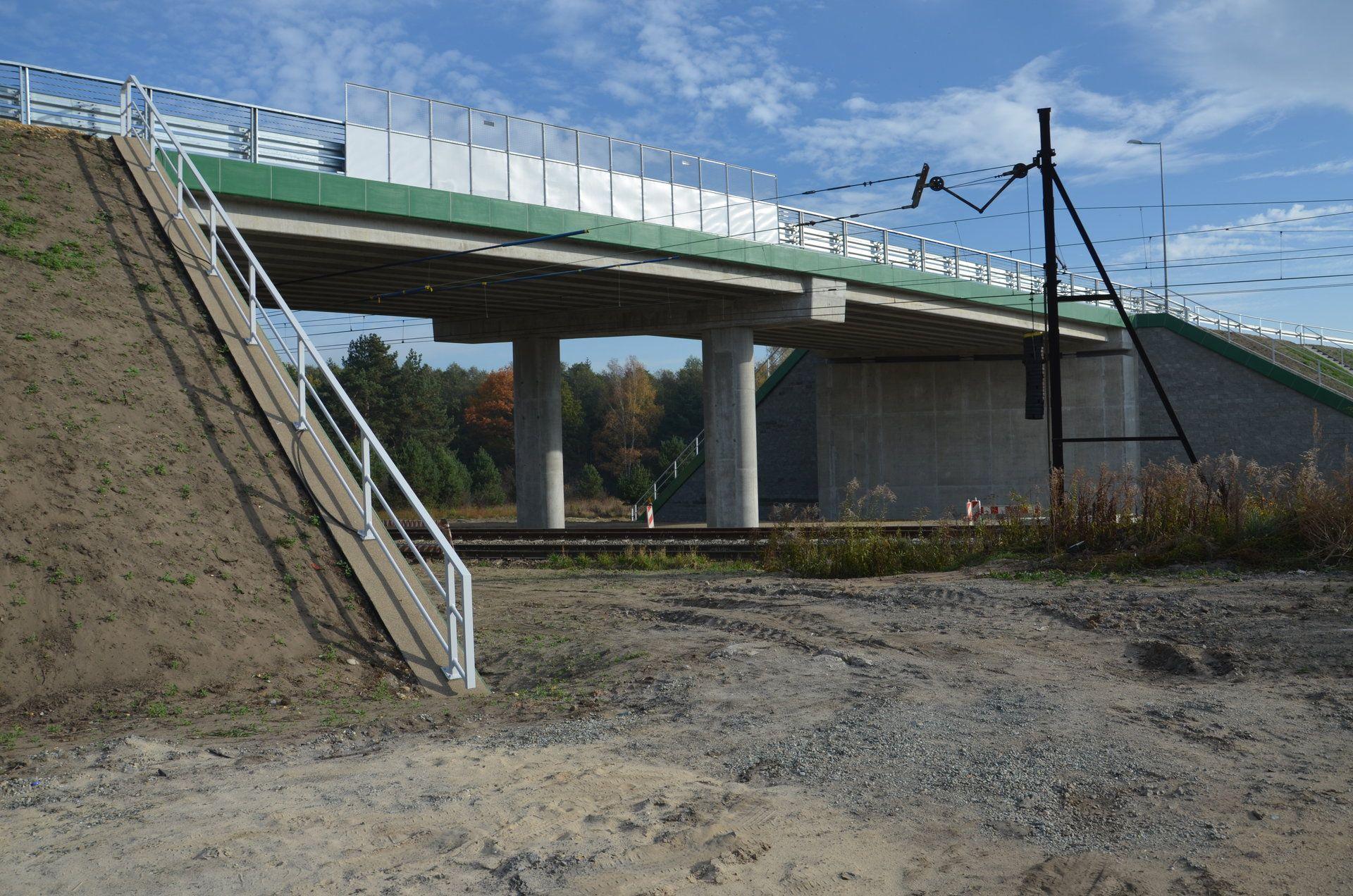 Nowy wiadukt w Jaworznie ma 39 metrów długości (fot. PKP PLK)