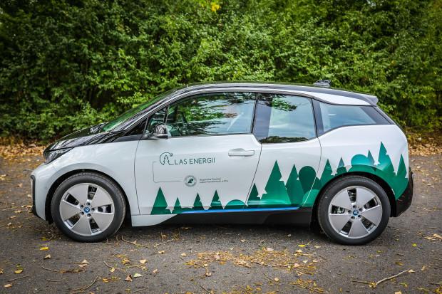 Lasy Państwowe zakupiły samochody elektryczne BMW i3