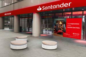Coraz wyższe zyski Santandera